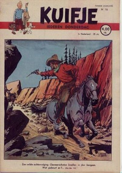 Cover for Kuifje (Le Lombard, 1946 series) #16/1947
