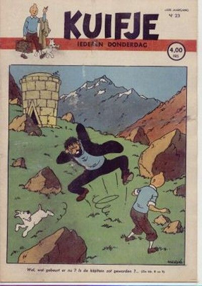 Cover for Kuifje (Le Lombard, 1946 series) #23/1947