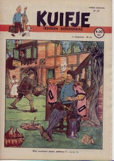 Cover for Kuifje (Le Lombard, 1946 series) #27/1947