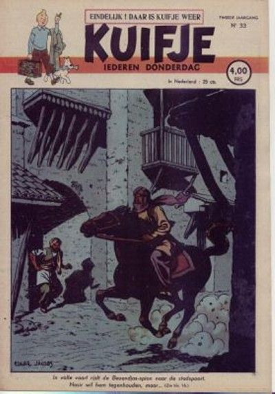 Cover for Kuifje (Le Lombard, 1946 series) #33/1947