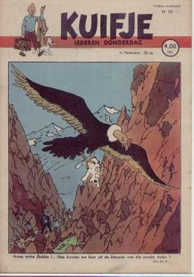 Cover for Kuifje (Le Lombard, 1946 series) #35/1947