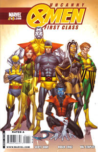 Cover Thumbnail for Uncanny X-Men: First Class (Marvel, 2009 series) #1