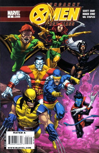Cover for Uncanny X-Men: First Class (Marvel, 2009 series) #2