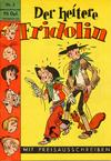 Cover for Der heitere Fridolin (Semrau, 1958 series) #3