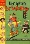 Cover for Der heitere Fridolin (Semrau, 1958 series) #7