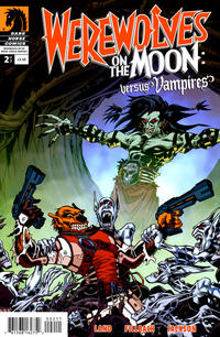 Cover Thumbnail for Werewolves on the Moon: Versus Vampires (Dark Horse, 2009 series) #2