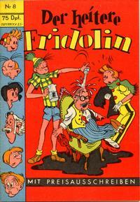 Cover Thumbnail for Der heitere Fridolin (Semrau, 1958 series) #8