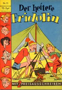 Cover Thumbnail for Der heitere Fridolin (Semrau, 1958 series) #11