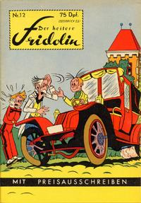 Cover Thumbnail for Der heitere Fridolin (Semrau, 1958 series) #12