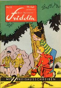 Cover Thumbnail for Der heitere Fridolin (Semrau, 1958 series) #13