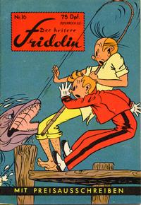 Cover Thumbnail for Der heitere Fridolin (Semrau, 1958 series) #16