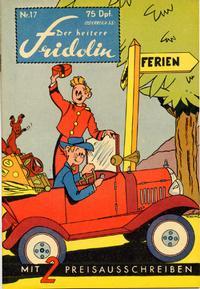 Cover Thumbnail for Der heitere Fridolin (Semrau, 1958 series) #17