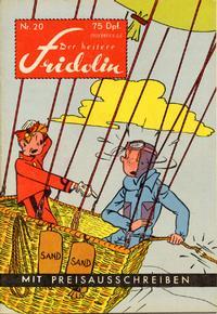 Cover Thumbnail for Der heitere Fridolin (Semrau, 1958 series) #20