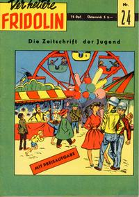 Cover Thumbnail for Der heitere Fridolin (Semrau, 1958 series) #24
