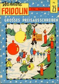 Cover Thumbnail for Der heitere Fridolin (Semrau, 1958 series) #25