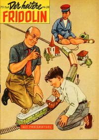 Cover Thumbnail for Der heitere Fridolin (Semrau, 1958 series) #28