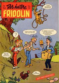 Cover Thumbnail for Der heitere Fridolin (Semrau, 1958 series) #32