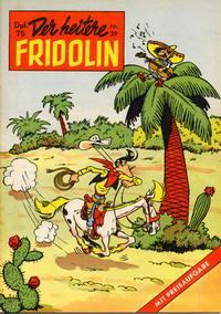 Cover Thumbnail for Der heitere Fridolin (Semrau, 1958 series) #39