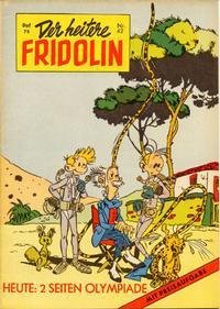 Cover Thumbnail for Der heitere Fridolin (Semrau, 1958 series) #42
