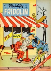 Cover Thumbnail for Der heitere Fridolin (Semrau, 1958 series) #48