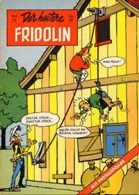 Cover Thumbnail for Der heitere Fridolin (Semrau, 1958 series) #49