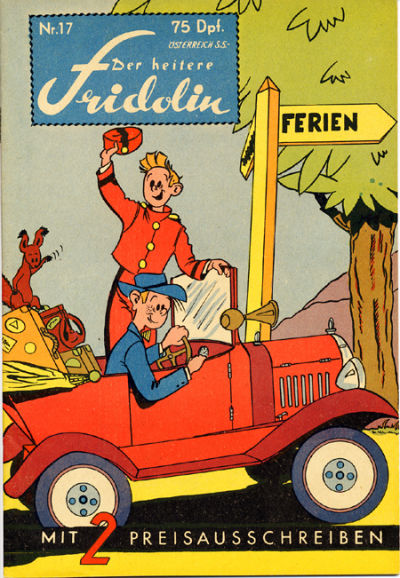 Cover for Der heitere Fridolin (Semrau, 1958 series) #17