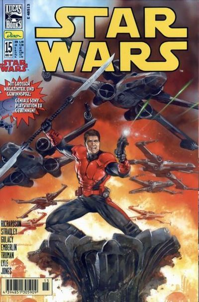 Cover for Star Wars (Dino Verlag, 1999 series) #15