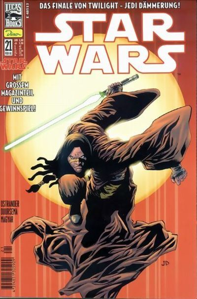 Cover for Star Wars (Dino Verlag, 1999 series) #21
