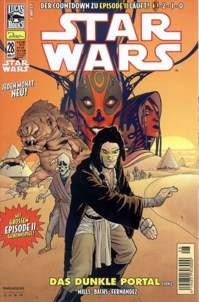 Cover for Star Wars (Dino Verlag, 1999 series) #28