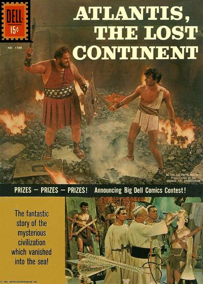Cover for Four Color (Dell, 1942 series) #1188 [ad] - Atlantis, the Lost Continent [British]