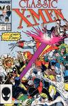 Cover for Classic X-Men (Marvel, 1986 series) #8 [Direct Edition]
