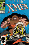 Cover for Classic X-Men (Marvel, 1986 series) #10 [Direct]