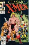 Cover for Classic X-Men (Marvel, 1986 series) #21 [Direct Edition]
