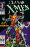 Cover for Classic X-Men (Marvel, 1986 series) #25 [Direct]