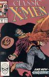 Cover for Classic X-Men (Marvel, 1986 series) #26 [Direct]