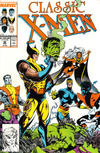 Cover for Classic X-Men (Marvel, 1986 series) #30 [Direct Edition]