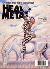 Cover for Heavy Metal Magazine (HM Communications, Inc., 1977 series) #v9#7