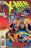 Cover Thumbnail for X-Men Classic (1990 series) #82 [Newsstand Edition]