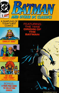 Cover Thumbnail for Batman and Other DC Classics (DC, 1989 series) #1