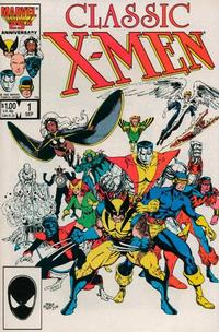 Cover Thumbnail for Classic X-Men (Marvel, 1986 series) #1 [Direct Edition]