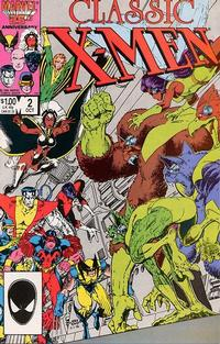 Cover Thumbnail for Classic X-Men (Marvel, 1986 series) #2 [Direct Edition]