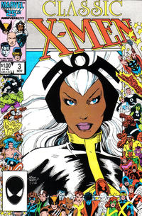 Cover Thumbnail for Classic X-Men (Marvel, 1986 series) #3 [Direct Edition]