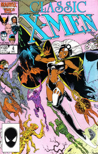 Cover Thumbnail for Classic X-Men (Marvel, 1986 series) #4 [Direct Edition]