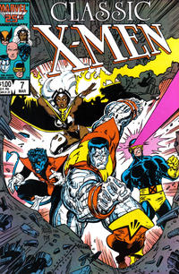 Cover Thumbnail for Classic X-Men (Marvel, 1986 series) #7 [Direct]