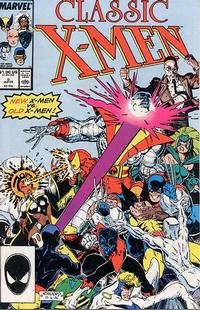 Cover Thumbnail for Classic X-Men (Marvel, 1986 series) #8 [Direct]