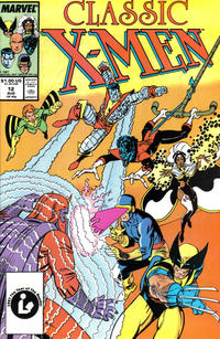 Cover Thumbnail for Classic X-Men (Marvel, 1986 series) #12 [Direct Edition]