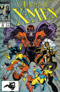 Cover Thumbnail for Classic X-Men (Marvel, 1986 series) #19 [Direct Edition]