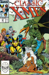 Cover Thumbnail for Classic X-Men (Marvel, 1986 series) #20 [Direct Edition]