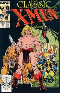 Cover Thumbnail for Classic X-Men (Marvel, 1986 series) #21 [Direct Edition]