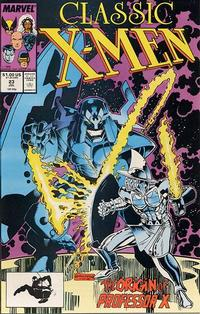 Cover Thumbnail for Classic X-Men (Marvel, 1986 series) #23 [Direct Edition]